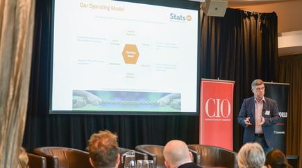 Stats NZ chief digital officer Chris Buxton: 'It takes time and effort to be able to continuously improve, so our leadership role is to create that environment and encourage and support that continuous improvement mentality, and support our staff to continue that activity'