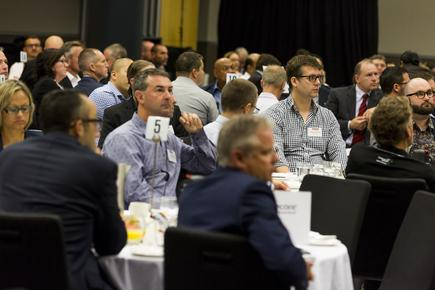 Gartner research director Jenny Beresford spoke at the CIO100 event at Sky City in Auckland...