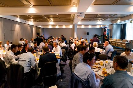 At the 2018 CIO-CMO Exchange in Auckland