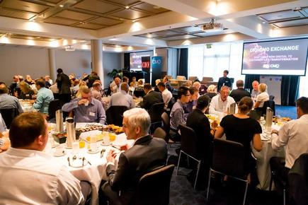 SAP is the case study sponsor and SilverStripe is the table sponsor @the 2018 CIO-CMO Exchange in Auckland.