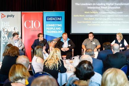 @ the CIO50 event in Wellington
