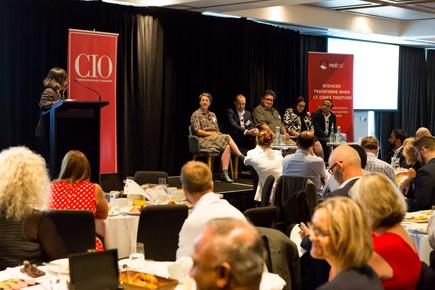 The interactive panel discussion in Auckland