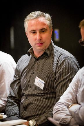 Owen Werner at a a CIO roundtable discussion in Auckland