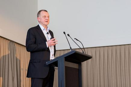 NZ government CIO Colin MacDonald at the ANZ CIO forum in Sydney