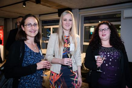 @the Consegna Cloud launch: Liz Cawson of AMP; Tamara Brons of Consegna and Kathleen Newton of QV.