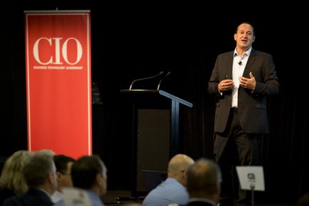 Dawie Olivier of Westpac at the 2016 CIO100 event