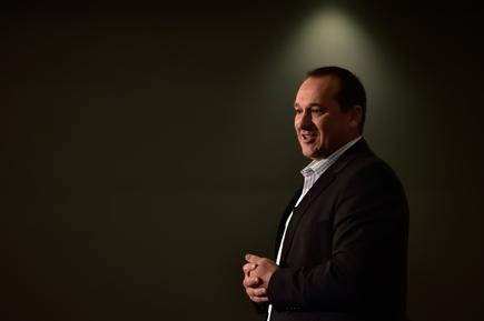 'You can't do this alone at a bank...You have got to have a team of people who really believe we can change that mindset', says Melissa Macfarlane on working with CIO Dawie  Olivier (in photo) as Westpac acts like a 200 year old startup. (CIO NZ photo by Sean Gillespie)