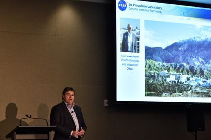 "Glen Willoughby talks about the partnership between Downer Group and NASA JPL: ""Work with non-traditional partners. They will provide a different perspective.""."""