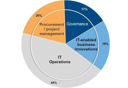 Allocation of New Zealand CIO's time, resources and budget