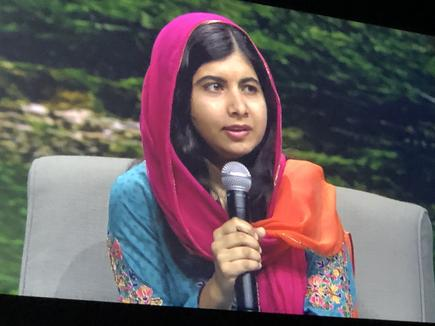 Malala Yousafzai at VMworld