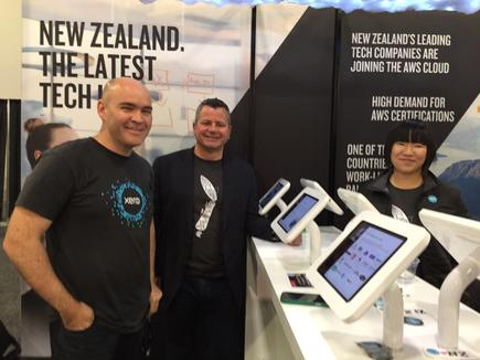Promoting New Zealand as the latest tech hub @re:Invent 2016 in Las Vegas