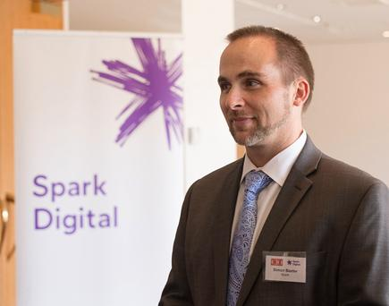 Simon Baxter, marketing manager, Spark Digital