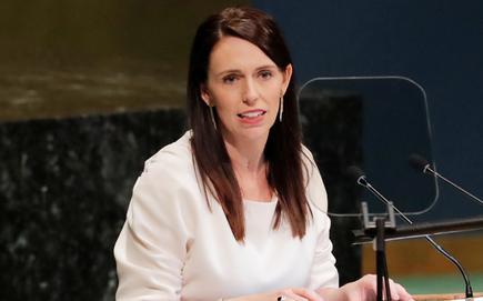 NZ Prime Minister Jacinda Ardern