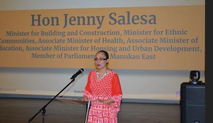 Hon Jenny Salesa