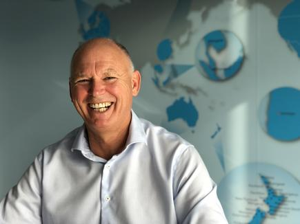 Mainfreight CIO Kevin Drinkwater, who is number one in the 2019 CIO50, leads a team of more than 100 people across the globe