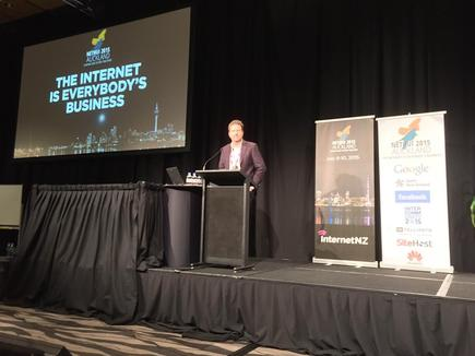 InternetNZ CEO Jordan Carter