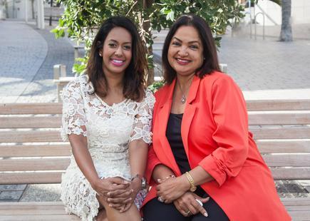 Nuwanthie Samarakone and Edwina Mistry