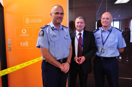 Deputy Commissioner Resource Management Glenn Dunbier; Deputy Chief Executive Mark Evans and Deputy Commissioner National Operations Mike Clement