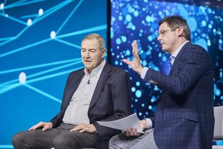 SAS CEO Dr Jim Goodnight and COO/CTO Oliver Schabenberger