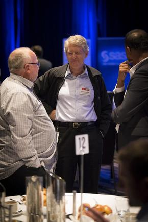 Phil Brimacombe at the 2014 CIO100 forum
