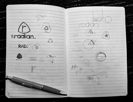 The making of Radian Digital, from Atta Elayyan's notes