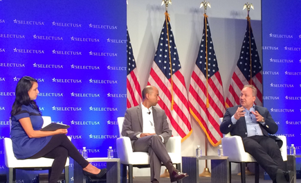 Rod Drury at the 2016 SelectUSA Investment Summit in Washington DC (Source: Xero)