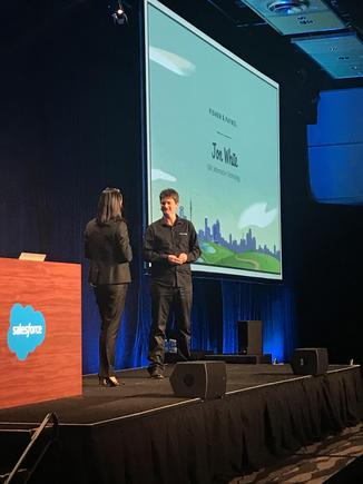 Jon White, GM information technology, Fisher & Paykel at the recent Salesforce Basecamp in Auckland