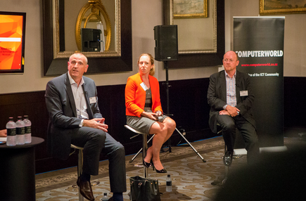 Mike Clarke - Head of CIO Advisory Practice, KPMG New Zealand; Kelly McFadzien - Partner, Chapman Tripp and Russell Craig - National Technology Officer, Microsoft New Zealand