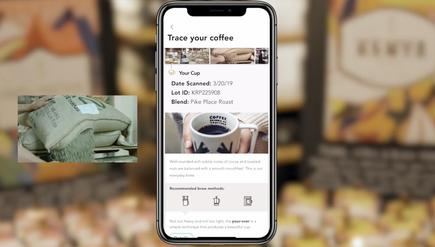 """Starbucks' mobile """"bean to cup"""" tracking app may look like this"""