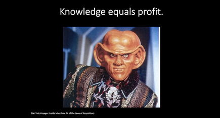 "The Ferengi is ""a group of aliens who are very business motivated and not necessarily ethical"", says Brig Gen (ret) Greg Touhill, Cyxtera Federal Group president"