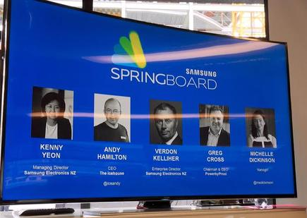 The Samsung Springboard Judges
