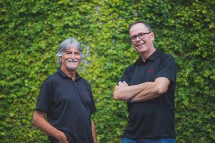 Rob Lee, CEO, Theta and Ray Delany, CEO, Designertech: 'Now competing on the same team'