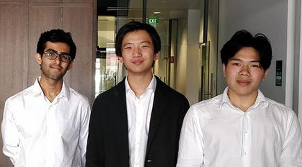 Sukhans Asrani, Andrew Hu and Winston Zhao