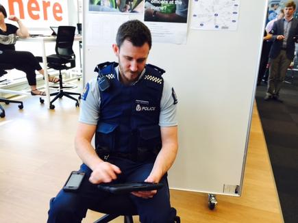Jake Attwood, community constable, NZ Police