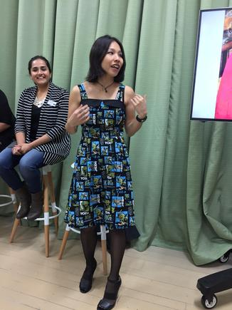 """Vivian Chandra quotes Alice Walker: """"Activism is my rent for living on the planet."""""""