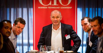 The author at a recent CIO roundtable discussion in Auckland (Photo by Jason Creaghan)
