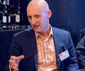 Pete Yates at a CIO roundtable discussion in Auckland