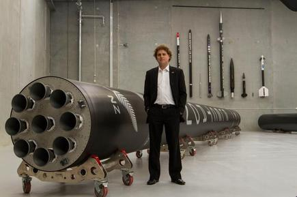 Rocket Lab founder and CEO Peter Beck