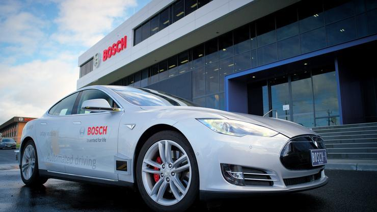 The Bosch TAC based on a Tesla Model S