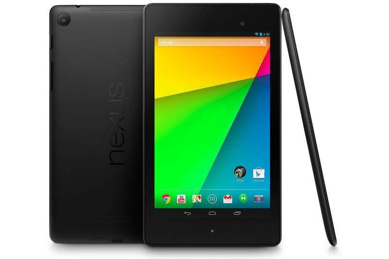 IDC says phablets and wearable tech will affect the sales of tablets like Google's Nexus 7 (above).