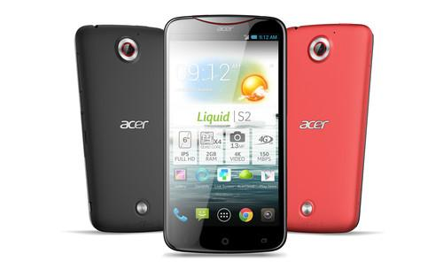 Acer's Liquid S2 can shoot 4K videos.