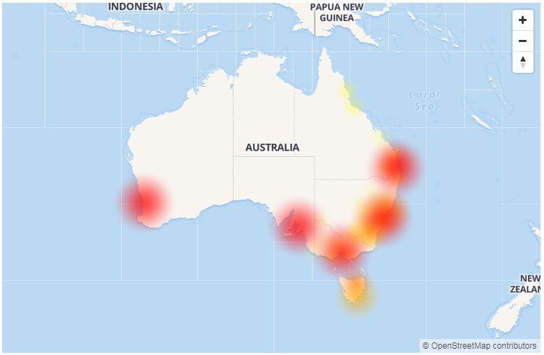 Telstra outage across Australia
