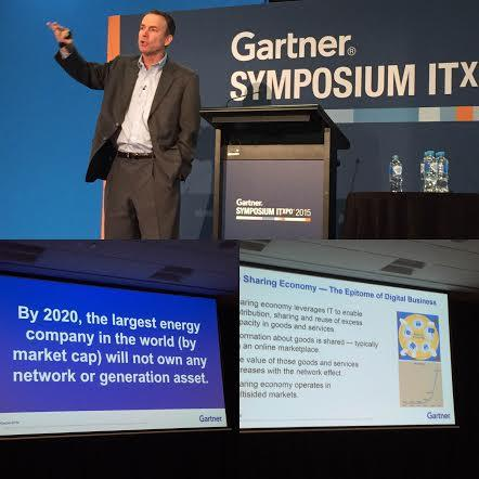 Leif Eriksen at the 2015 Gartner Symposium/ITxpo in the Gold Coast