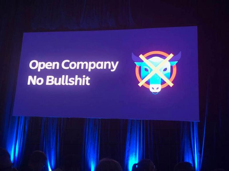 Clearly one of Atlassian's core values