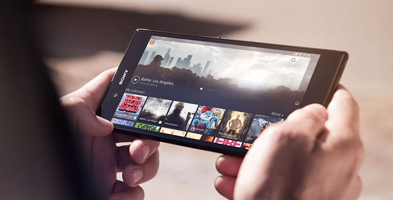 The Sony Xperia Z Ultra has a 6.4in full HD screen.
