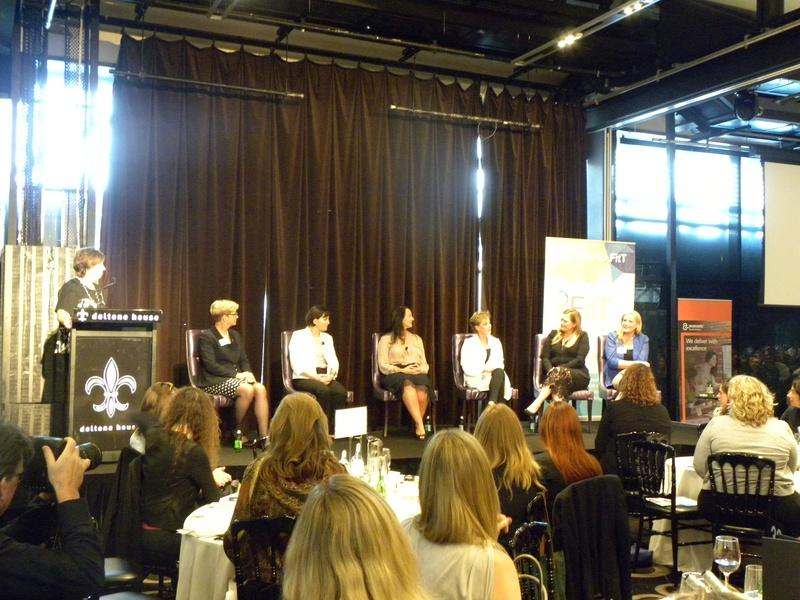 The FITT International Women's Day panel (photo: Holly Morgan)