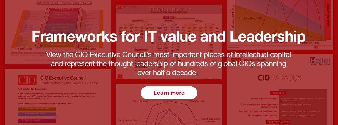 Frameworks for IT value and Leadership
