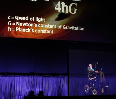 Stephen Hawking hits the Opera House as a hologram