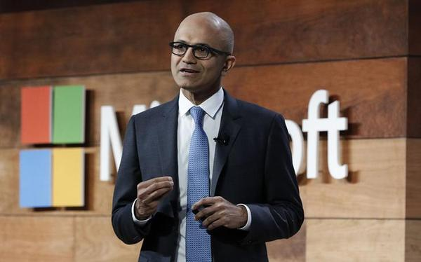 The tech world's best CEO? Microsoft's Nadella, hands down