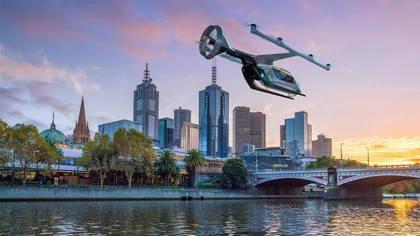 Uber selects Melbourne as flying taxi pilot city